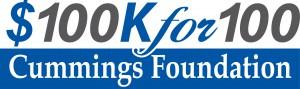 100Kfor100 logo