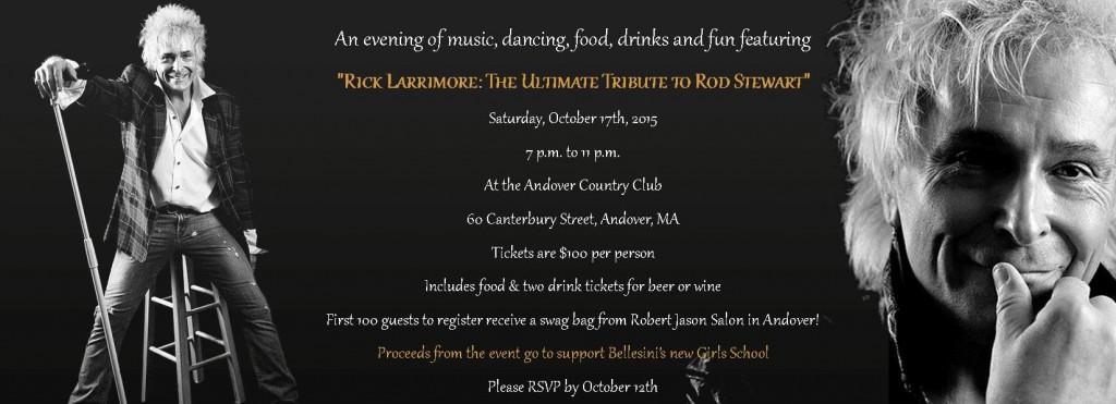 Rick Larrimore Benefit Invitation